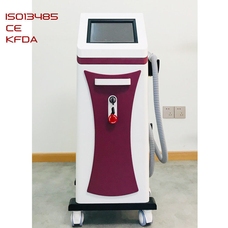 808nm Laser Hair Removal Equipment , Hair Laser Machine Macro Channel Laser Bar